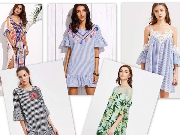 Sun, beach, dress