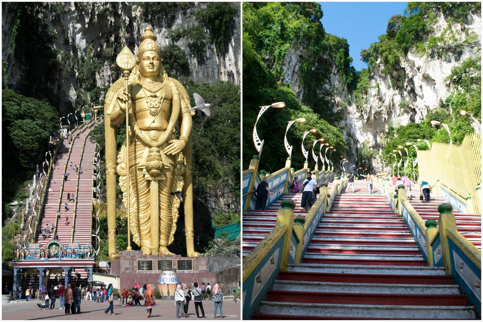 Batu Caves Steps Kuala Lumpur | Malaysia