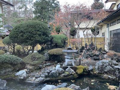 中庭の庭園