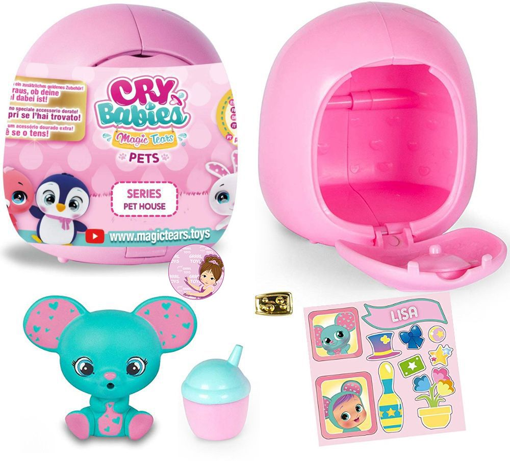 New Cry Babies pets collectible toys for girls 2020