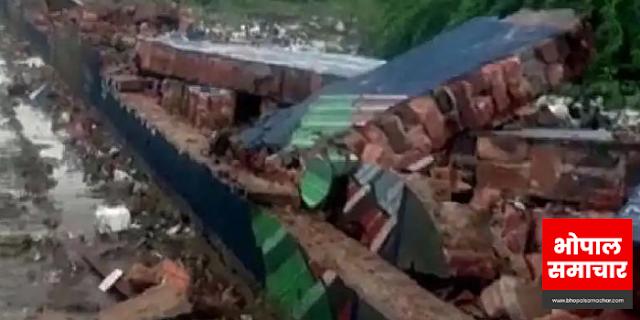 गुजरात में बारिश के कारण झाबुआ 8 लोगों की मौत | MP NEWS