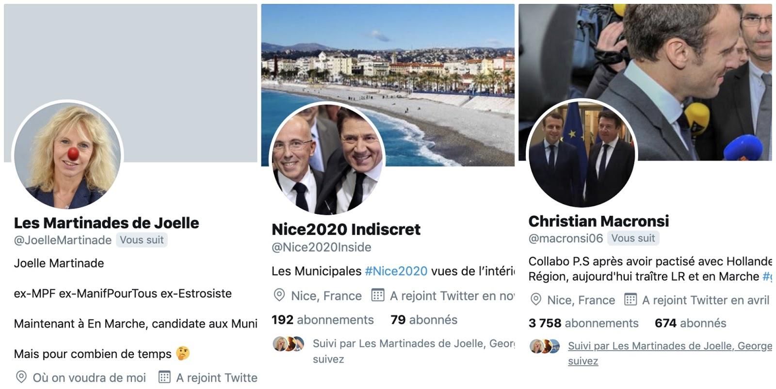 Ragots, règlements de comptes: sur Twitter, ces anonymes mordants qui vont pimenter la municipale niçoise