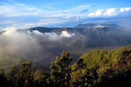 indonesia, gunung berapi