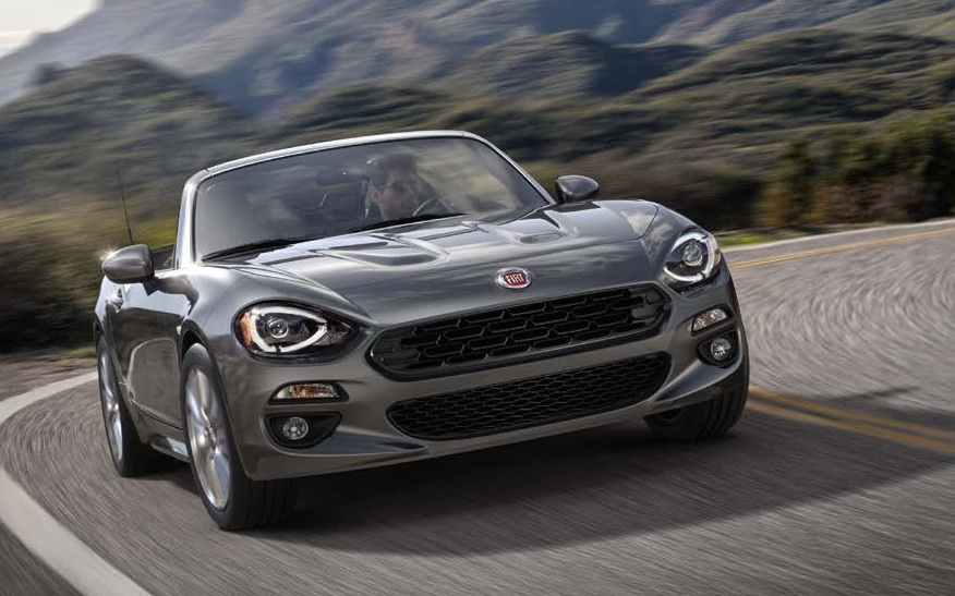 Elegant 2018 Fiat 124 Spider Model Changes
