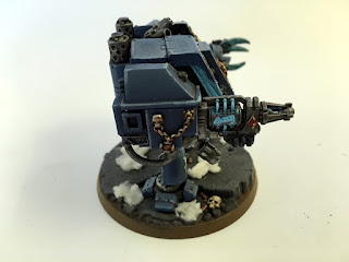 40k space wolves bjorn the fell handed - Hellfrost Cannon Side