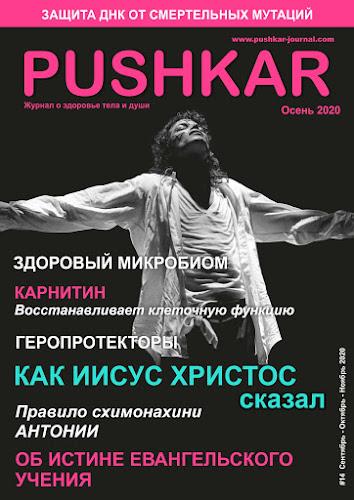 ЖУРНАЛ PUSHKAR #14 ОСЕНЬ 2020