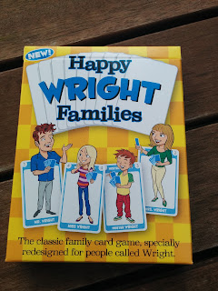 Happy Families redesigned for people called Wright!
