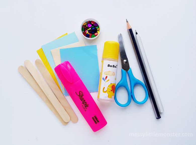 Bookmark craft supplies