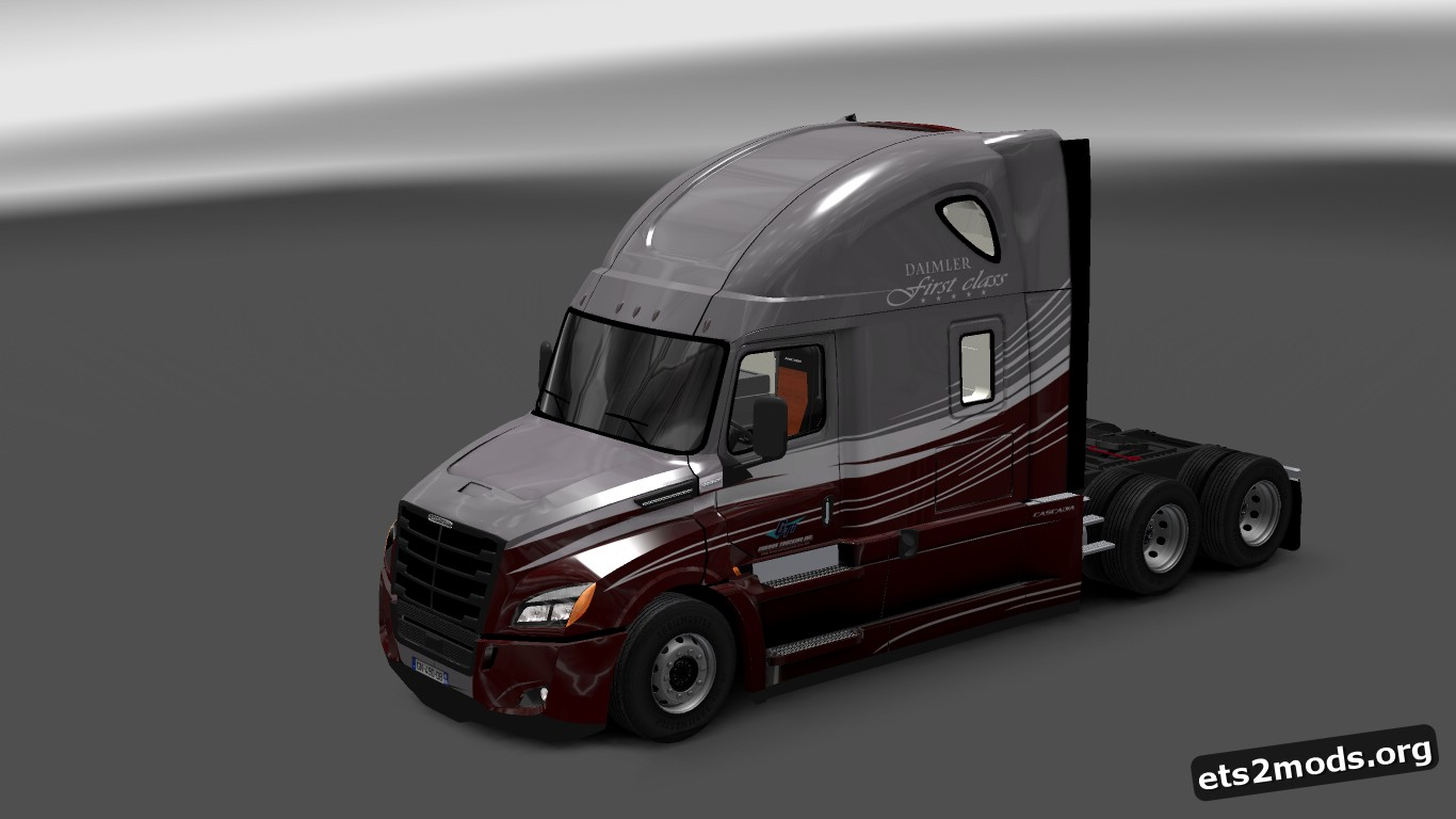 Gordon Trucking INC. Skin for Freightliner Cascadia 2018