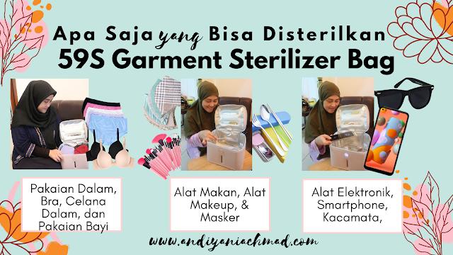 Langkah Tepat Cegah Uretritis dengan 59S Garment Sterilizer Bag