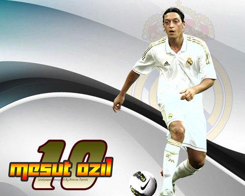 "Wallpaper Design: Mezut Ozil Real Madrid ""Wallpaper"" 2012"