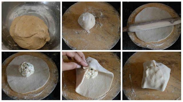 Paneer Paratha Recipe (No Onion No Garlic)