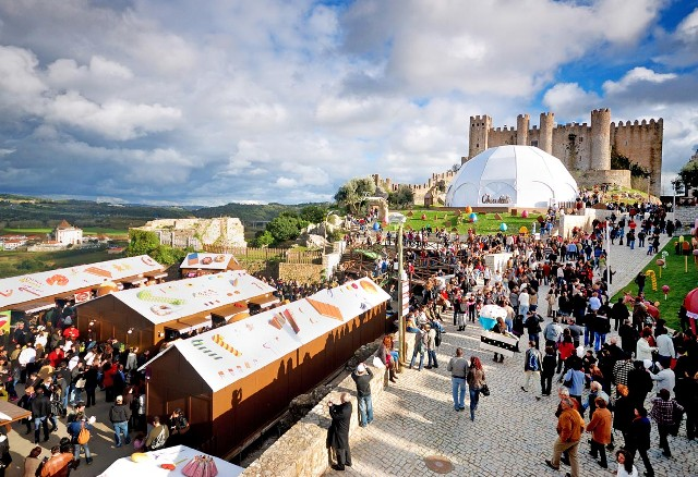Chocolate festivities at Obidos