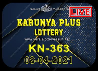 Kerala Lottery Result Karunya plus KN-363 08.04.2021,Karunya plus KN-363 , Karunya plus 08-04.2021 Karunya Result, kerala lottery result, lottery result kerala, lottery today result, today kerala lottery, lottery results kerala, lottery result today kerala, kerala lottery result today, today lottery result