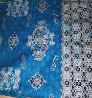 Kain Batik Prima 5451 Biru