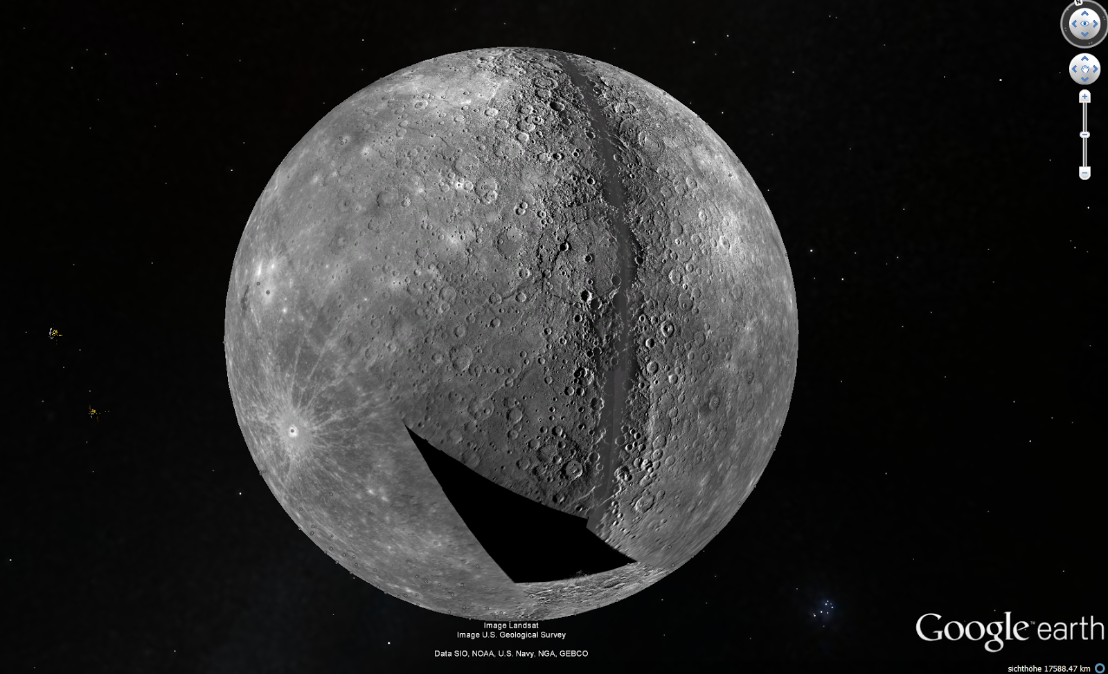 NASA MESSENGER crashed on Mercury as planned | Rudi's Blog