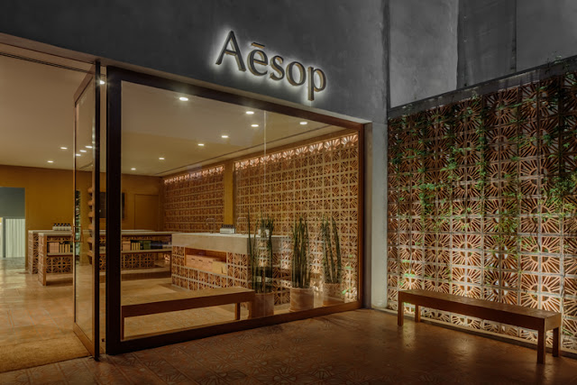 Green Pear Diaries, interiorismo, retail, Aesop, Vila Madalena, Sao Paulo