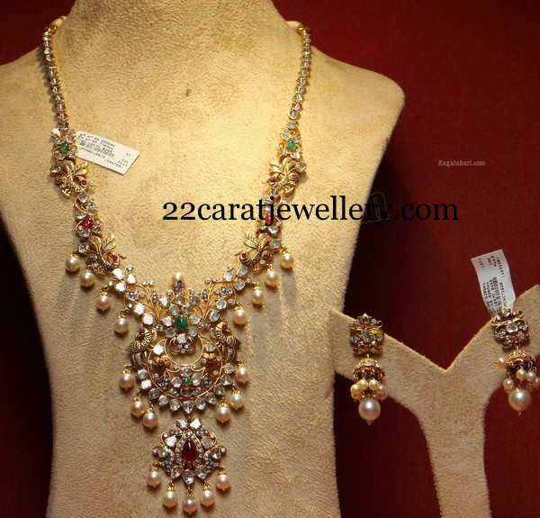 Pachi Necklaces By Pmj Jewelllers Jewellery Designs