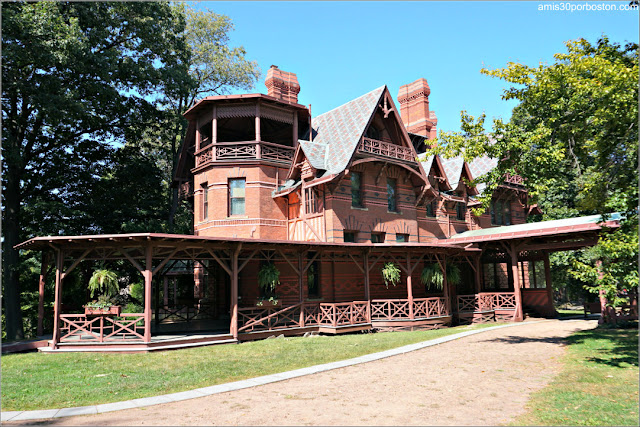 Casa Museo de Mark Twain en Hartford, Connecticut