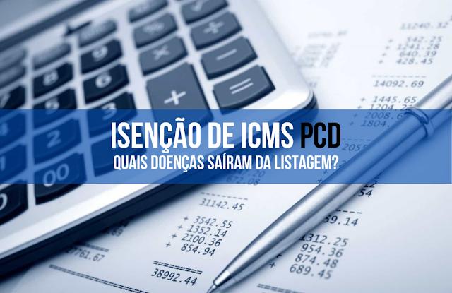 Isenção de ICMS PcD