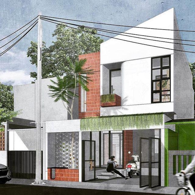 desain rumah minimalis di kampung