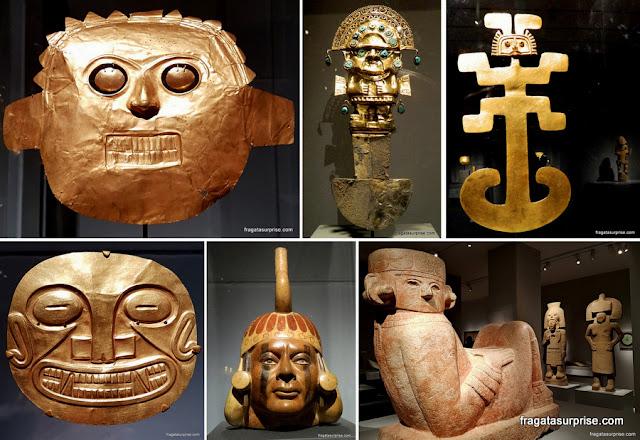 """Exposição """"Reinos Dourados"""" - arte pré-colombiana no Museu Metropolitan de Nova York"""