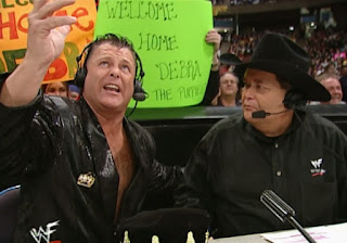 WWE / WWF - Armageddon 2000 - Jim Ross and Jerry 'The King' Lawler called the show