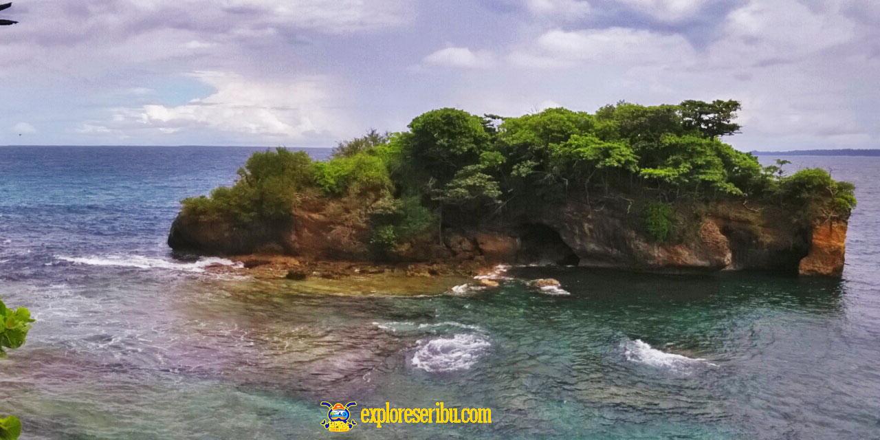 karang copong, pulau peucang ujung kulon