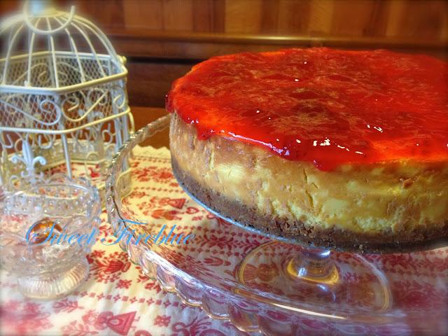 happybirthday anna the original new york cheesecake recipe cotto e postato. Black Bedroom Furniture Sets. Home Design Ideas