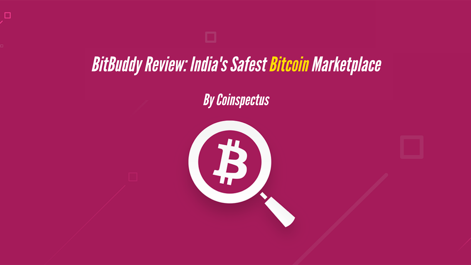BitBuddy India's Safest Bitcoin Marketplace