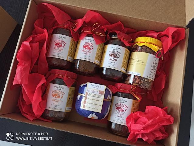 TAPAULAH Cooking Pastes Gift Set