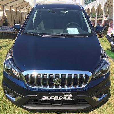 Suzuki S-Cross Facelift- front view image