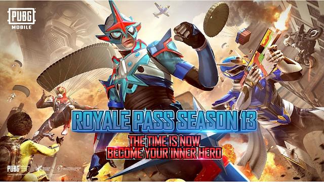 Royale Pass Season 13 Ice Ranger