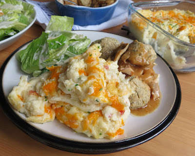 Twice Baked Mashed Potatoes
