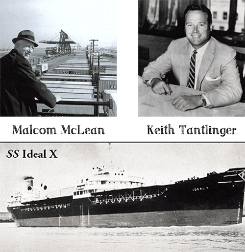 Malcom Mclean, Keith Tantlinger, SS Ideal X