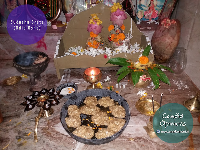 "Chenna Bhoga given as ""Baala Bhog"" early morning on Sudasha Brata"