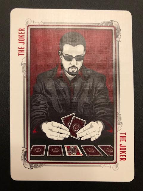 A Randy Butterfield Joker (Midnight Cards)