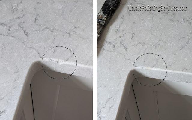 quartz countertop chip repair