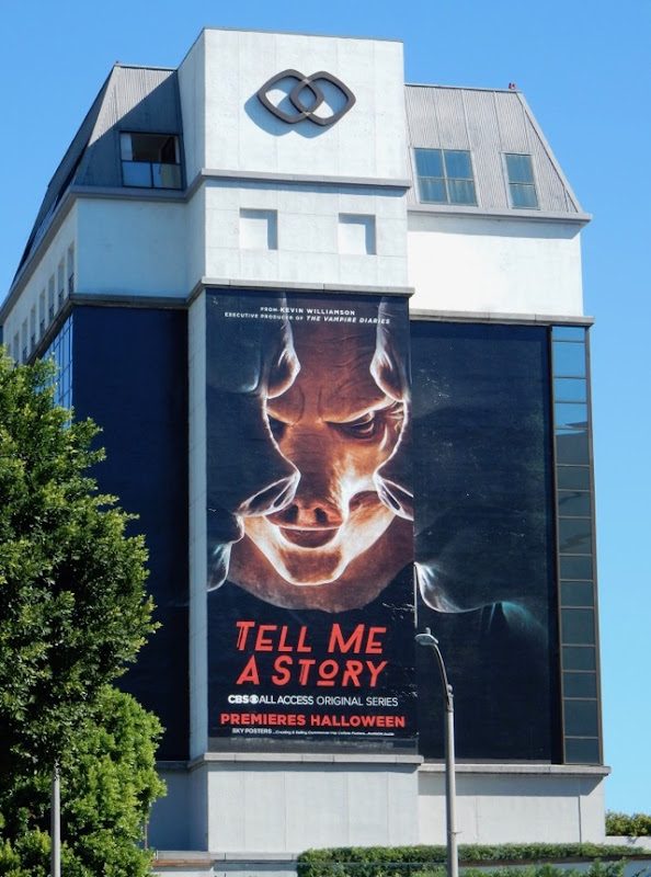 Tell Me A Story TV series billboard