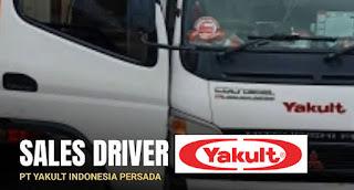 Lowongan Kerja Meulaboh Sales Driver PT Yakult Indonesia Persada