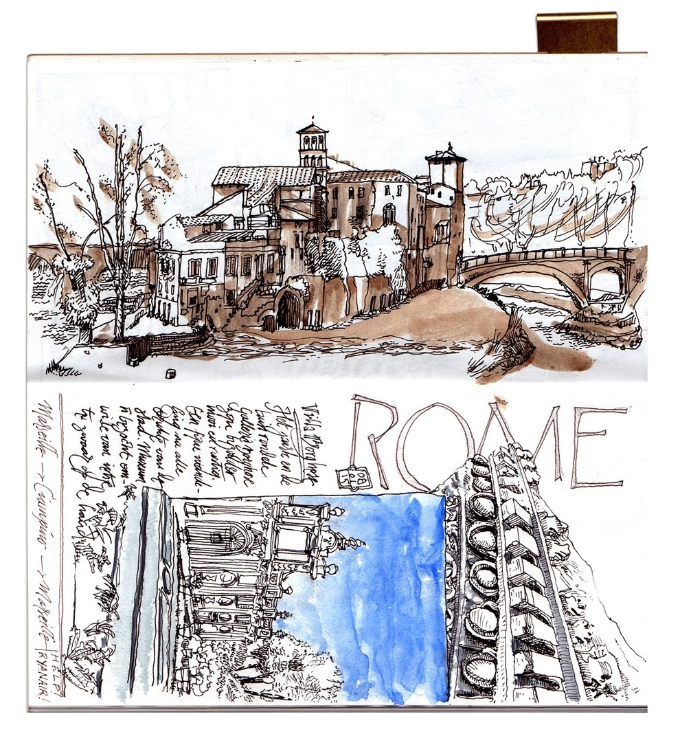 13-Rome-Travelogue-dessinauteur-Urban-Sketches-and-Travel-Journals-on-Moleskine-www-designstack-co