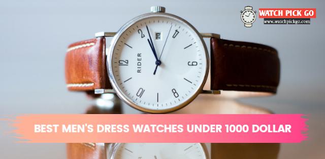 Top 6 Best Men's Dress Watches Under 1000 Dollars (2020)
