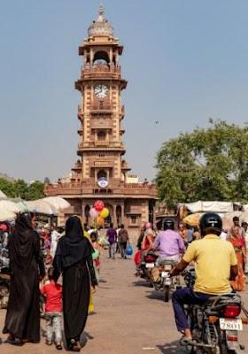 Clock tower and Sadar bazaar