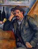 Smoker by Paul Cezanne - Genre Paintings from Hermitage Museum