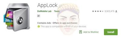Aplikasi Applock-DoMobile Lab, aplikasi kunci terbaik