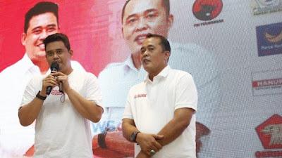 Bobby-Aulia Menang Pilkada Medan, Ketua Tim Relawan Ingatkan Perubahan Positif
