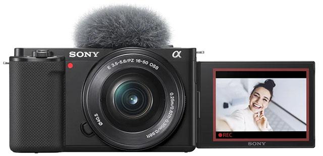 Sony ZV-E10 и сэлфи-экран