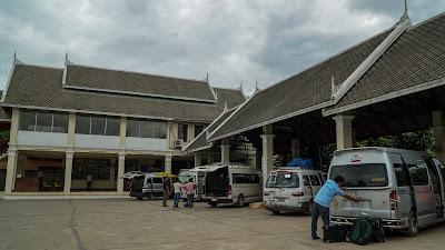 Luang Prabang's southern bus station