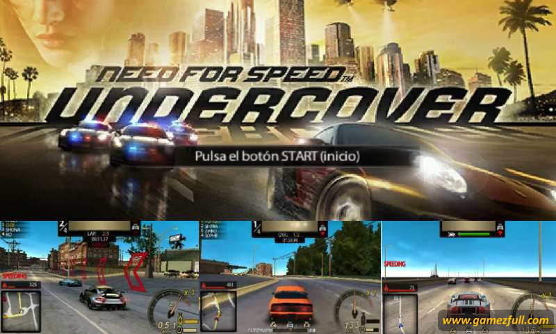 Need For Speed Undercover psp full español
