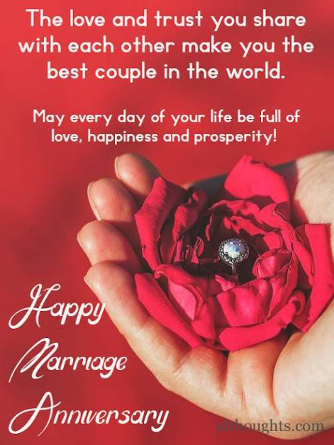 Romantic anniversary messages for couple